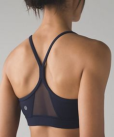 Find your flow—the Flow Y Bra is a timeless classic for any practice.
