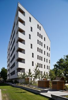 Międzyborska 11 Housing Estate Warsaw, Poland FIRM. Grupa 5 Architekci #architecture