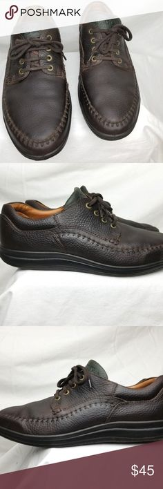 6b67c5ba7d80 Shop Men s Ecco Brown Green size EU 46 US Oxfords   Derbys at a discounted  price at Poshmark. Description  Ecco Comfort Men Oxford Shoes Walking Brown  ...