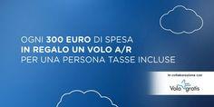 Unieuro: Voli gratis in Europa se spendi almeno €300 -