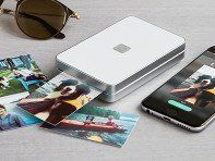 Lifeprint is a pocket-sized, ink-less portable photo and video printer that creates prints straight from your camera roll and social media accounts. It's augmented reality feature is straight from the future. If you print a video still, you can watch the actual video from the companion app by just hovering over it. Snap a pic and then count down 30 seconds as it almost instantly turns into a glossy, high-res picture you can keep (and watch) forever.