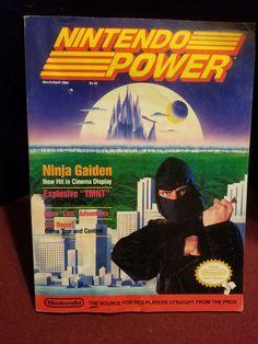 Nintendo Power Magazine Ninja Gaiden Volume 5 March / April 1989 Please also check out my other posts. Namaste Ninja Gaiden, Entertainment System, Namaste, Video Games, Nintendo, Geek Stuff, Cinema, March, Posts