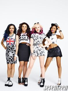 Little Mix, Seventeen Magazine June/July 2013 Cover, Quotes, Pictures Jesy Nelson, Perrie Edwards, Cher Lloyd, Little Mix Style, Little Mix Fashion, Ariana Grande Fotos, Seventeen Magazine, Sofia Carson, Girl Bands