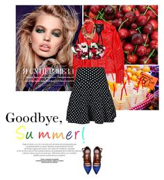 """""""Goodbye, Summer!"""" by vivienne398 ❤ liked on Polyvore featuring Lizzie Fortunato and Tabitha Simmons"""