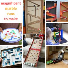 Marble runs marble maze, marble runs, recycled crafts kids, wooden crafts, crafts Marble Maze, Marble Runs, Activities For Boys, Stem Activities, Summer Activities, Recycled Crafts Kids, Wooden Crafts, Paper Plate Design, Crafts For Kids To Make