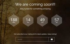 responsive-coming-soon-bootstrap-template