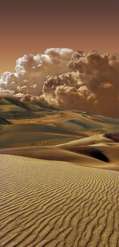 2679 by peter holme iii - Sand Dune Storm