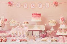 pink birthday party ideas | ... festas de aniversário para meninas || Girls' themed birthday parties
