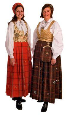 Gudbrandsdølen Dagningen - Her er kvinnebunadene Norway, Winter Jackets, Folklore, Costumes, Oslo, Traditional, Style, Fashion, Photo Illustration