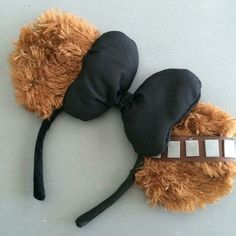 Chewbacca Inspired Minnie Mouse Ears