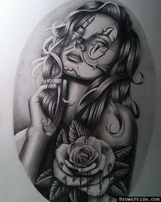 Classic Chicano Art Work - BrownPride.com Photo Gallery (BP)