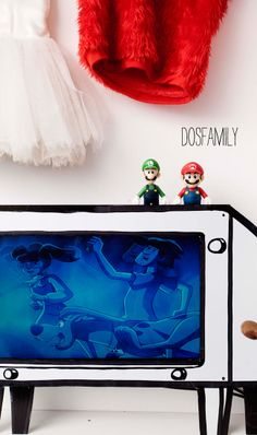 diy foam board tv frame - fun