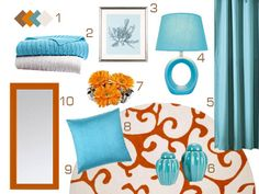 color palette for the guest room
