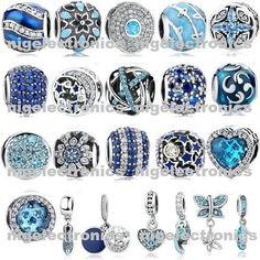 Prata Esterlina 925 Autêntico Novo Joy & Peace Azul um charme Fit Pulseira Europeia   Joias, bijuterias e relógios, Bijuteria, Berloques e pulseiras de berloques   eBay!