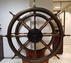Museo Naval de Madrid, Rueda del Timon del Nautilus
