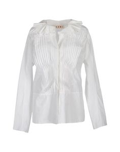 Marni Women - Shirts - Long sleeves Pleats & ruffles