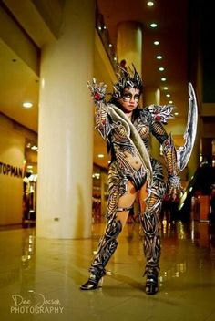 Anime cosplay Witchblade