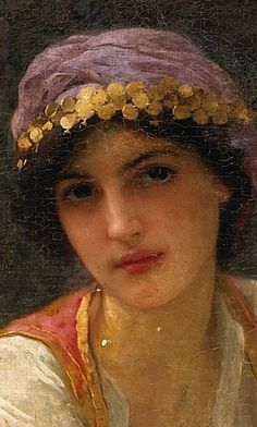 Odalisque (detail), by Charles-Amable Lenoir (French, 1861-1940)