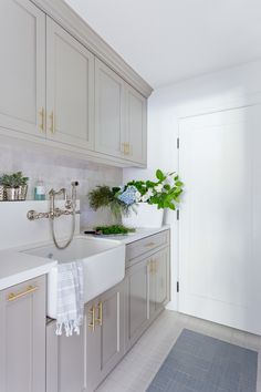 """Fantastic """"laundry room storage diy shelves"""" info is available on our internet site. Have a look and you wont be sorry you did. Grey Laundry Rooms, Laundry Room Cabinets, Laundry Room Organization, Small Laundry, Grey Cabinets, Laundry Room Design, Kitchen Design, Kitchen Decor, Shaker Cabinets"""