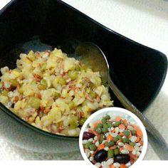 I'm not on a diet,i'm eating healthy with multigrains (redrice,wheat,adzuki bens,oat,barley,lentil)