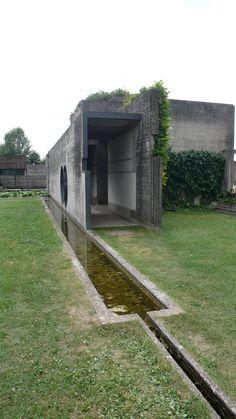 Tomba Brion Cemetery. San Vito d'Altivole, Italy. 1969-78. Carlo Scarpa. Photo Evan Chakroff More