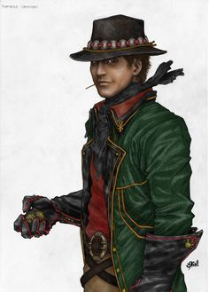 Matrim Cauthon - Wheel of Time series - this is about how I pictured him. he's no hero (yet...I'm only 4 books in so far), but he's still one of my favorites.