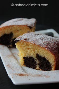 L'Antro dell'Alchimista: Torta Dalmata all'Acqua Calda - Hot Water Dalmatian Cake