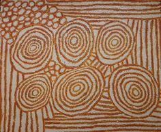 Debra Nakamarra. For more Aboriginal art visit us at www.mccullochandmcculloch.com.au #aboriginalart #australianart #indigenousart