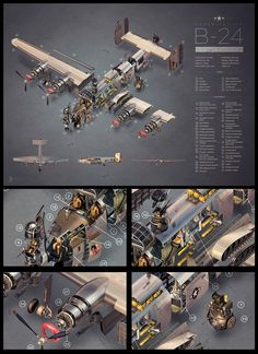 B24 Exploded View on Behance