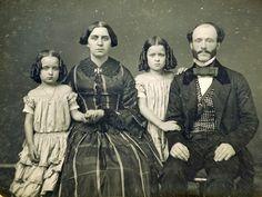 portrait of a family 1855