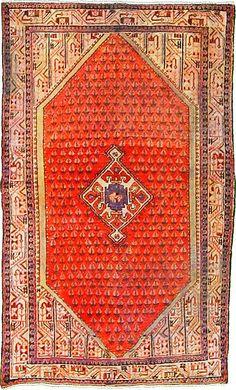 4 2 x 6 11 Red Farahan Persian Rugs