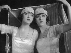 Jenny and Rosie Dolly in 1922 Dolly Sisters, Rose And Rosie, Trip The Light Fantastic, Sister Act, Dance Hall, Hello Dolly, Showgirls, Burlesque, Vintage Photos