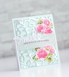 Altenew stamps, vintage roses stamps