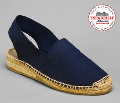 Slingback Medium Heel Espadrille Shoes from Spain | For Women