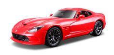 Maisto Special Edition - Dodge 2013 SRT Viper GTS Model Car 1:18 - Red (31128)  Manufacturer: Maisto Enarxis Code: 018066 #toys #Maisto #miniature #cars #Dodge #Viper