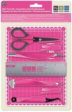 We R Memory Keepers - Mini Tool Kit at Scrapbook.com