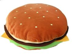 JUMBO-HAMBURGER-FAST-FAKE-FOOD-BODY-PLUSH-PILLOW-CUSHION