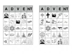 Hey everyone, I spent way too much time making this Advent Bingo set to not share it in the world! Throw in some M&M's and prizes, this thing was a hit with teens and children. There's 60 uniqu...