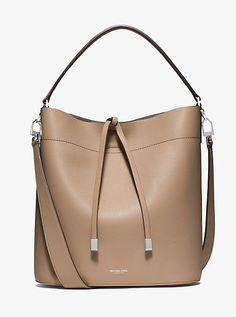 0f0c85288b5f Miranda Large Leather Shoulder Bag Handtaschen, Bekleidung, Michael Kors  Taschen, Handtaschen Michael Kors