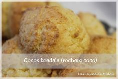 Je continue dans la série des bredele avec les cocos bredele, ces boules à la noix de coco fondantes à l'intérieur et croustillantes à l'extérieur. Là encore, comme les autres bredele, c'est simple et bon ! Toujours attention à la cuisson, un peu trop... #alsace #biscuits #bredele
