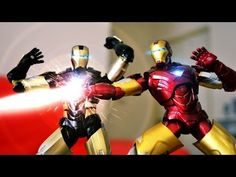 Iron Man's Unboxing Stop Motion - YouTube