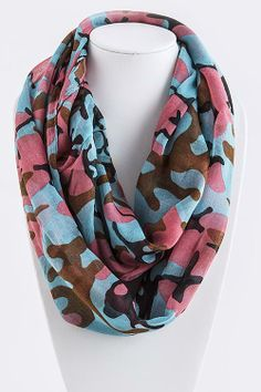 Watercolor Infinity Scarf · Street Style Fashion · Online Store Powered by Storenvy