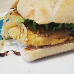 Hamburger au steack de lentilles corail #vegan