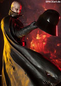 Star Wars: Darth Vader - Mythos Statue, Fertig-Modell ... http://spaceart.de/produkte/sw009.php