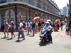 New Orleans. One of the many parades on Bourbon Street. Bourbon Street, New Orleans, In This Moment, Manga, Pictures, Manga Anime, Manga Comics, Manga Art