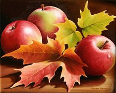 """Three Apples"" by Varvara Harmon"