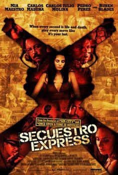 """Secuestro Express - Realismo Venezolano mesclado con humor oscuro y  toques de Tarantino; un triumfo del cine Vnezolano. Aunque habeces usa demaciado """"shaky cam"""". (9/10)"""