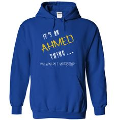 Ahmed T Shirts, Hoodies. Check price ==► https://www.sunfrog.com/LifeStyle/Ahmed-9534-RoyalBlue-11641159-Hoodie.html?41382 $36.9