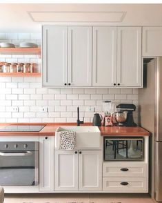 Home Interior Decoration .Home Interior Decoration Warm Kitchen, Home Decor Kitchen, Home Decor Bedroom, Home Kitchens, Kitchen Design, Kitchen Tiles, Cheap Rustic Decor, Cheap Home Decor, Interior House Colors