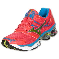 The Women's Mizuno Wave Creation 14 Running Shoes create a smooth, comfortable gait for neutral runners. Designed for comfort, they feature a responsive, springy wave plate that disperses shock, reducing the impact on your body and returning ene Best Running Shoes, Nike Running, Workout Shoes, Workout Wear, Athletic Wear, Athletic Shoes, Mizuno Shoes, Run Like A Girl, Sport Fashion
